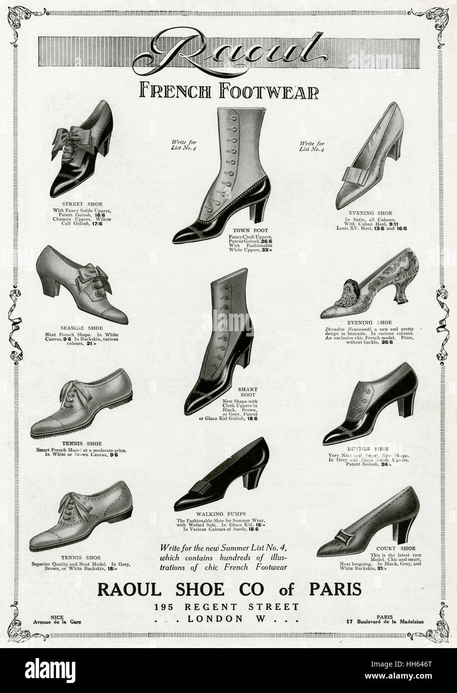 d1ace7412bab Shoe Advert Stock Photos   Shoe Advert Stock Images - Alamy