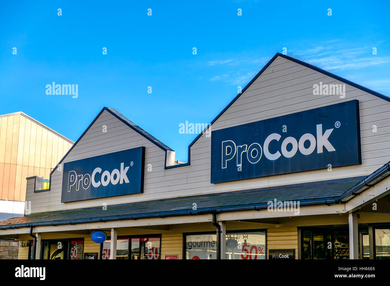 Pro Cook Shop Freeport - Stock Image