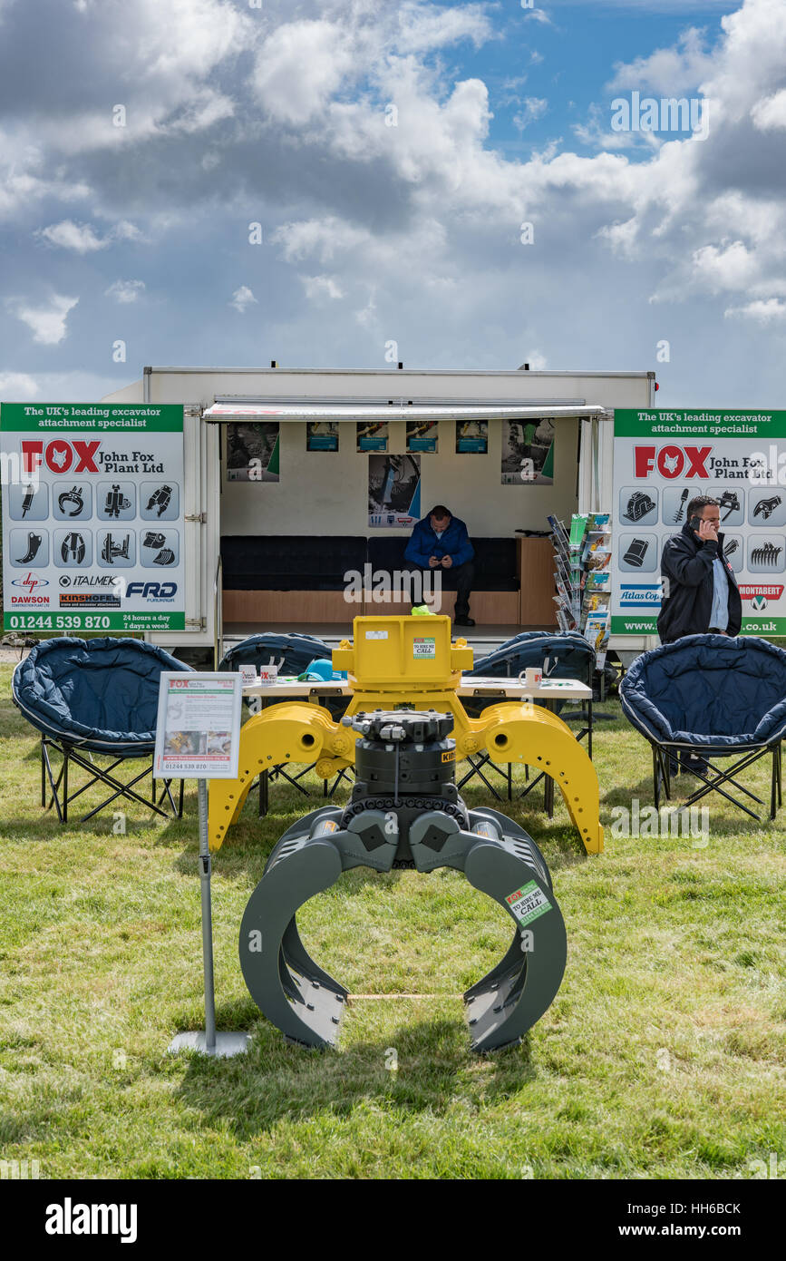 Selector Grabs on display at Anglesey Show - Stock Image