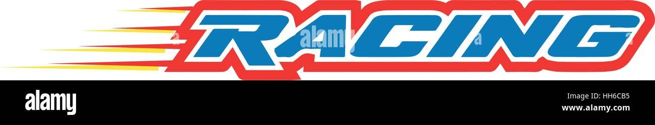 racing logo stock photos racing logo stock images alamy