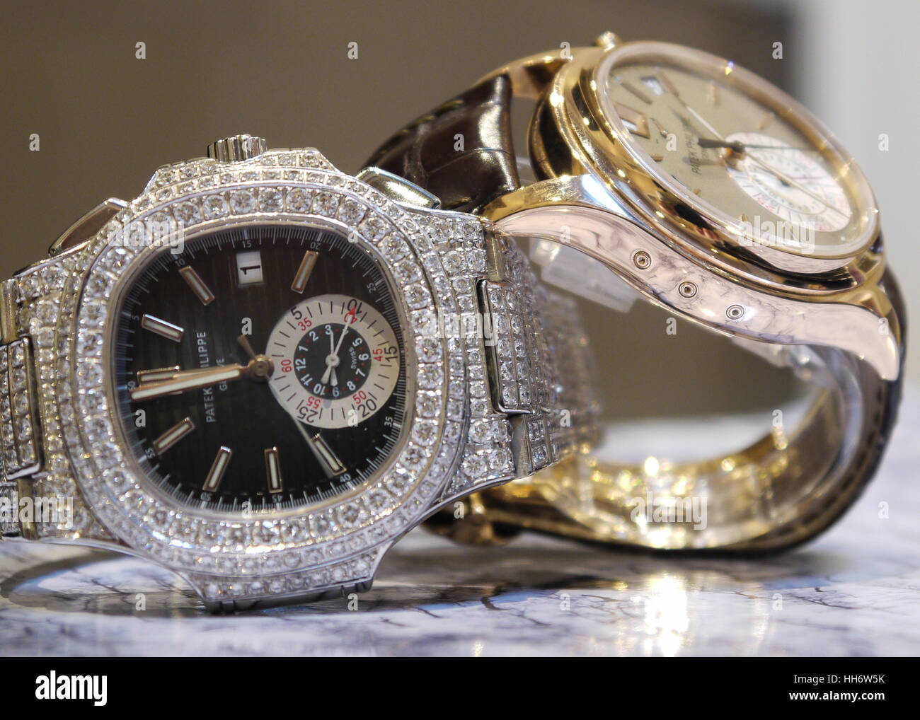 Philippe Patek Wrist Watch - Stock Image