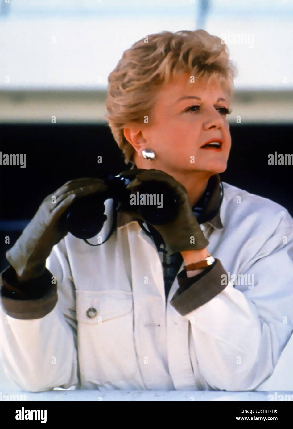 MURDER, SHE WROTE Universal Television series 1984-1996 with Angela Lansbury - Stock Image