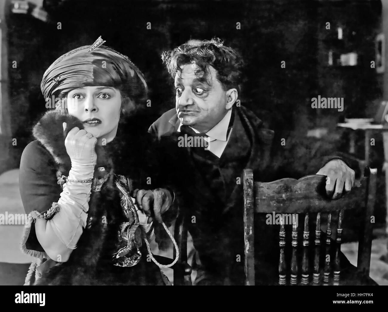 MADAME X  1920 Goldwun Pictures silent film with Pauline Frederick and Sidney Ainsworth - Stock Image