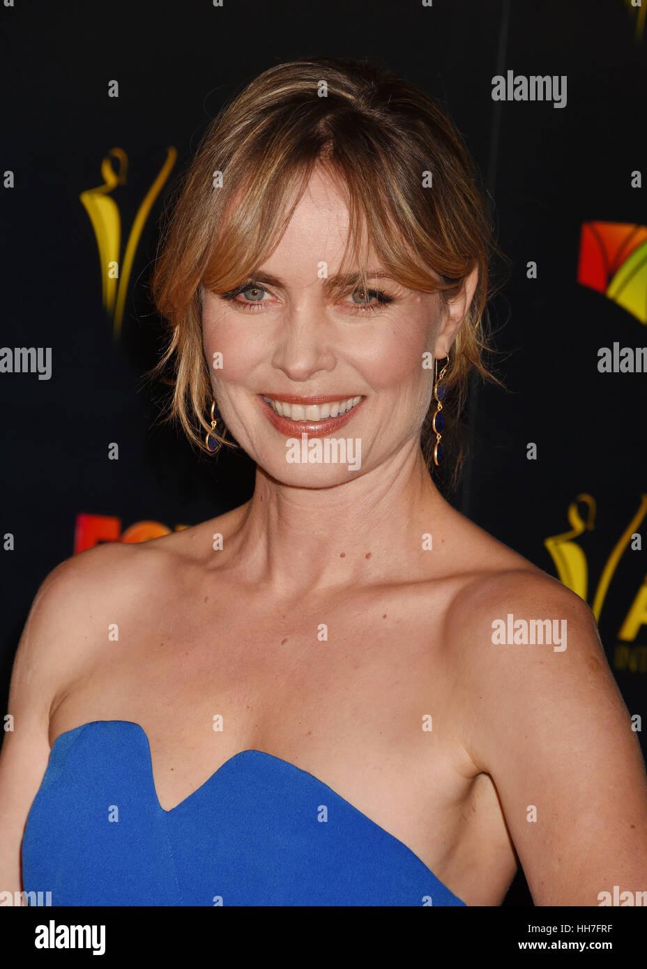 RADHA MITCHELL Australian film actress in January 2017. Photo Jeffrey Mayer - Stock Image