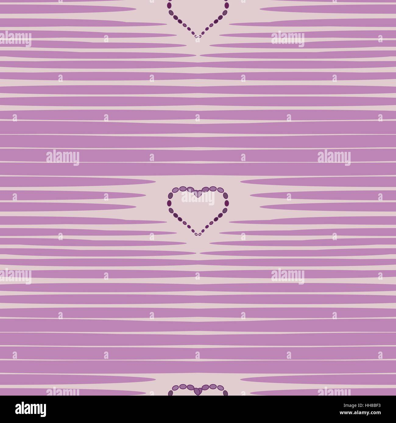 Heart abstract background vintage pattern. - Stock Image