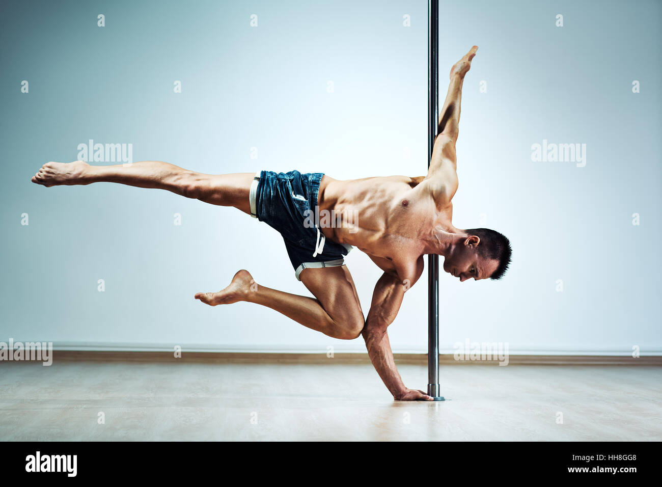 pole dance for man
