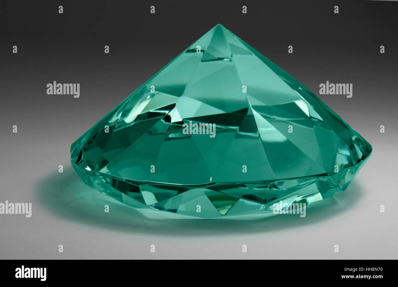 diamond photo shines jewel refraction facet stock shine light green lucent bright