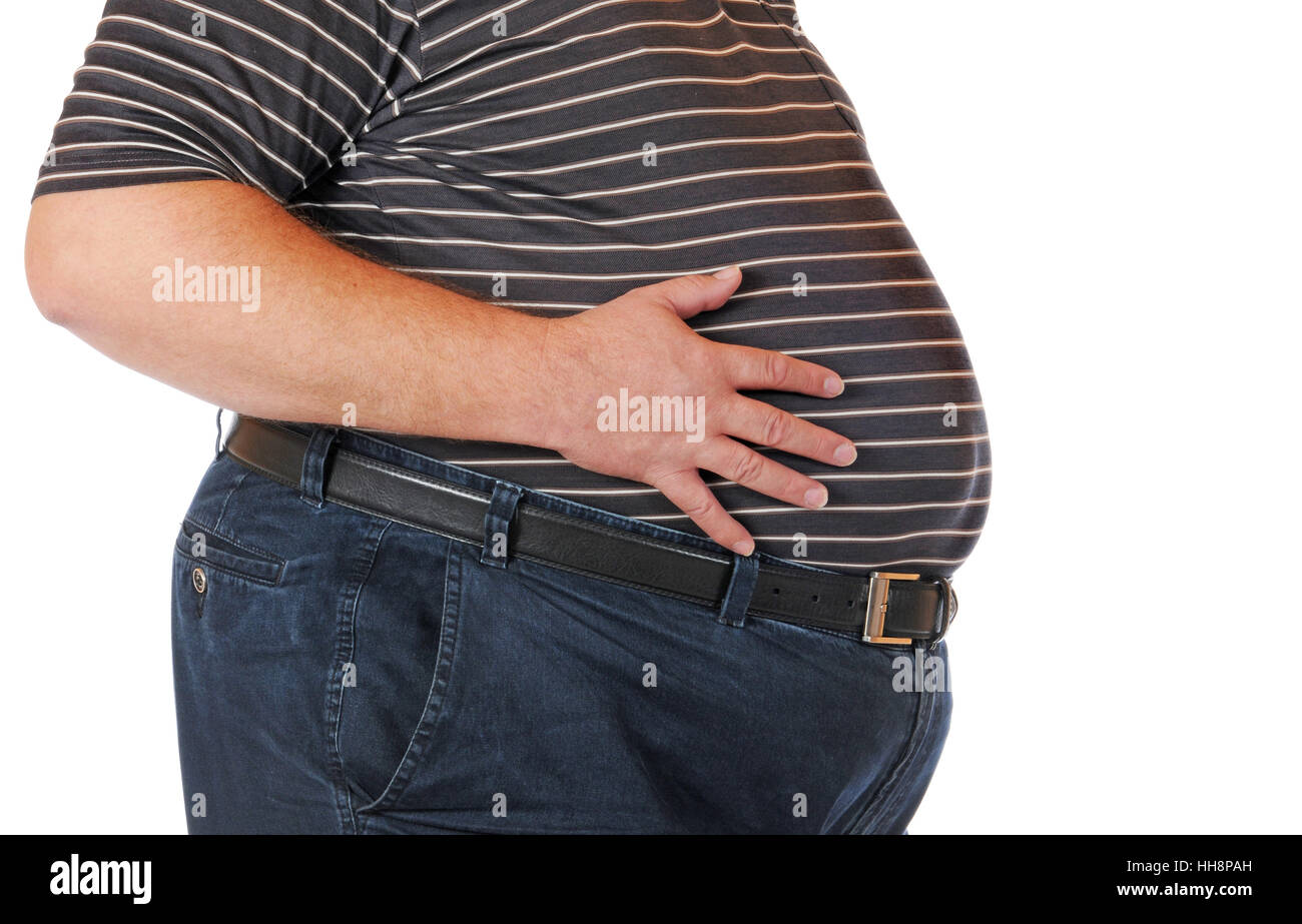 Chubby oldermen belly was