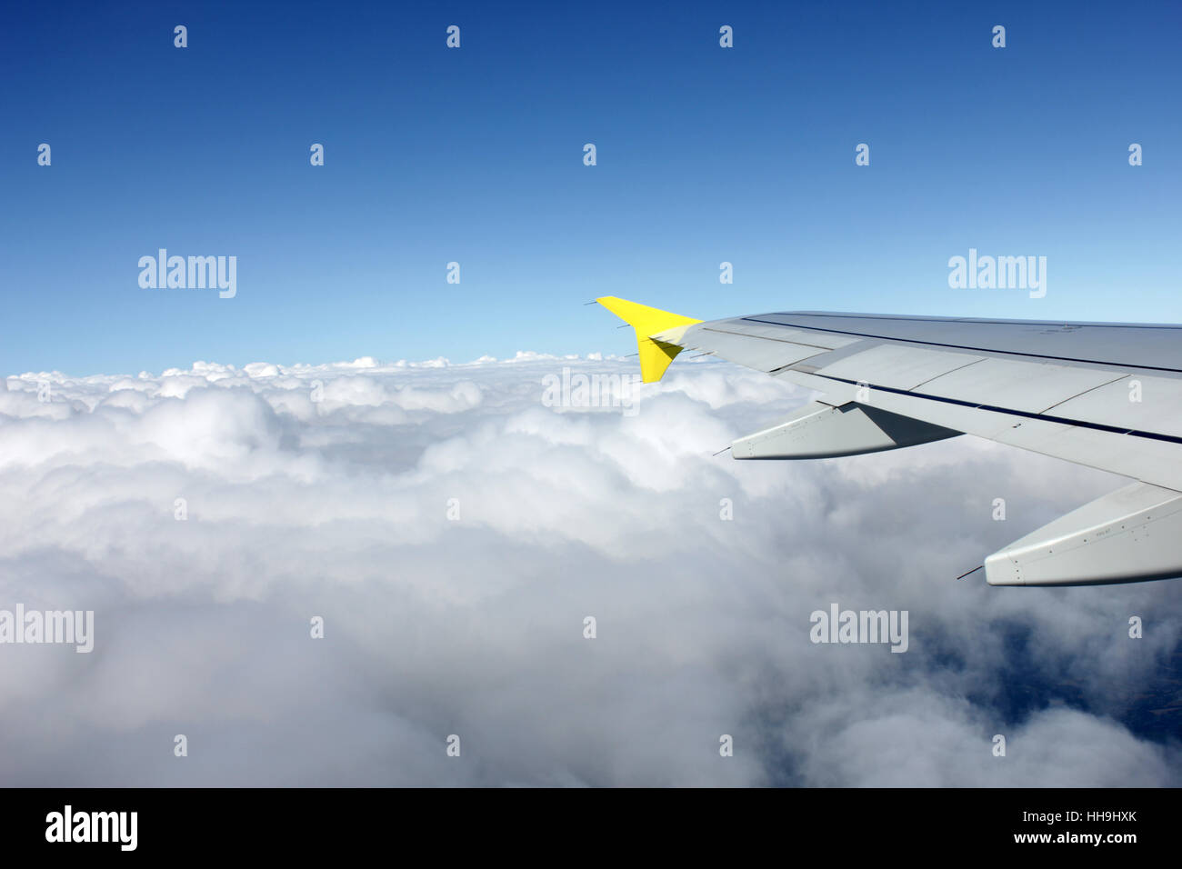 above the clouds - Stock Image