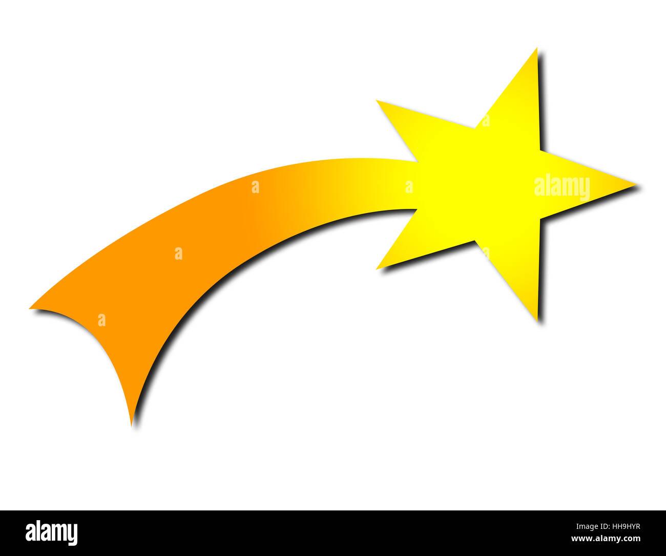 Sign Signal Shooting Star Star Poinsettia Pictogram Symbol