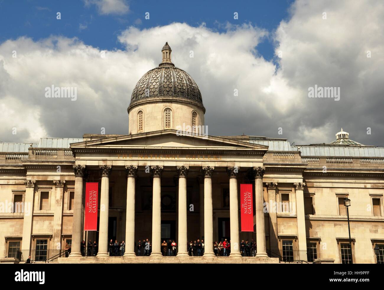 national gallery - Stock Image