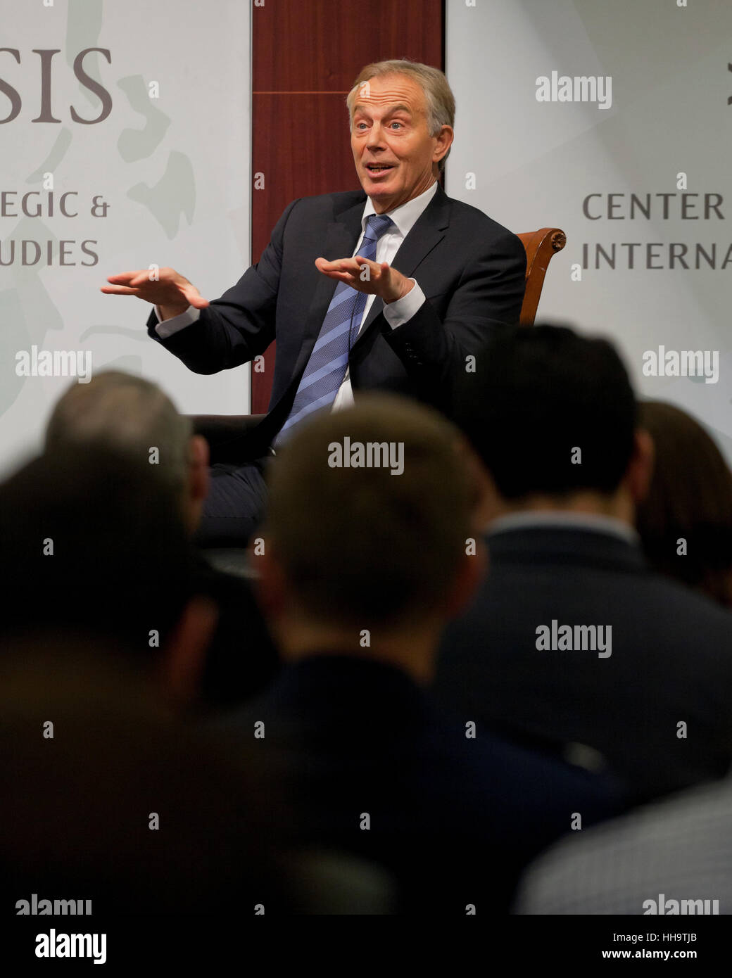 Former UK Prime Minister Tony Blair - Stock Image