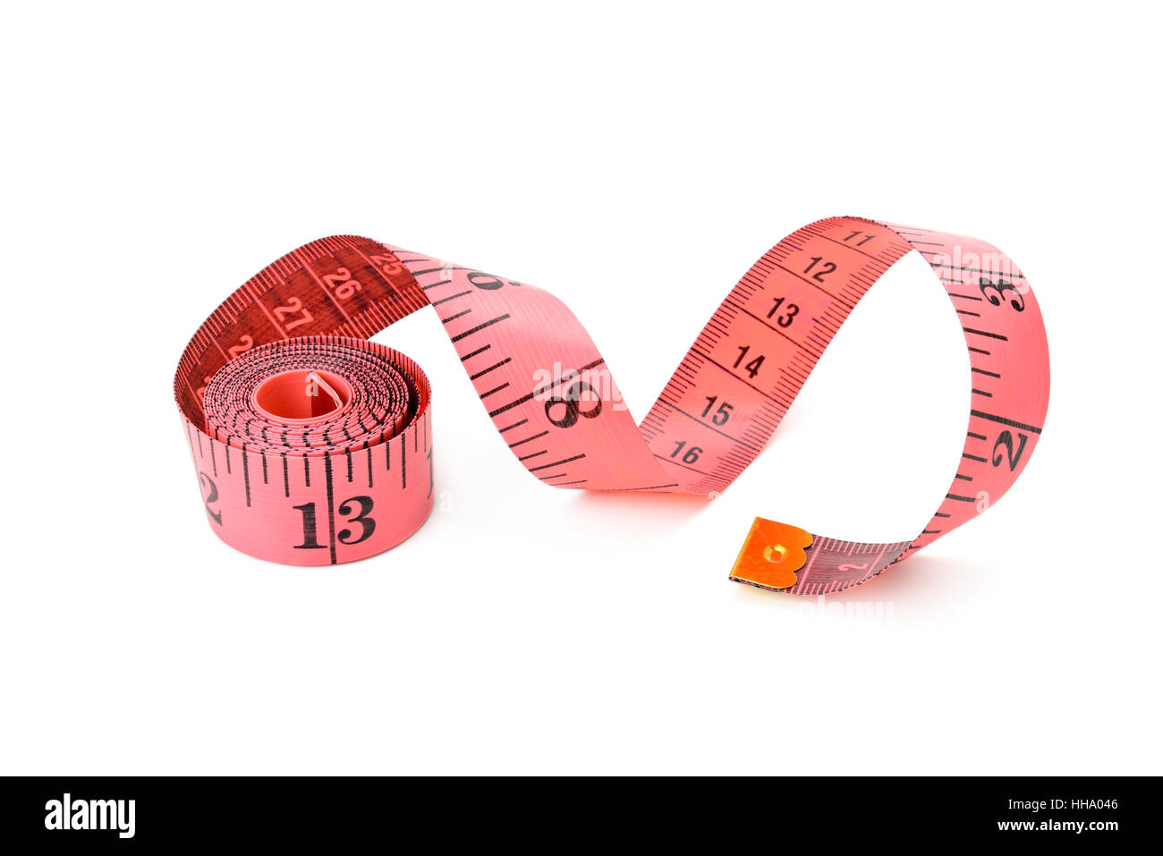 Metre isolated on white background - Stock Image