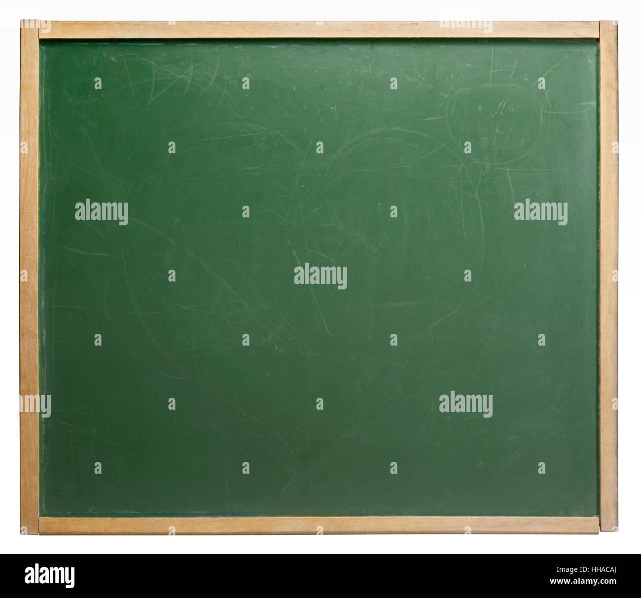 old used blackboard Stock Photo