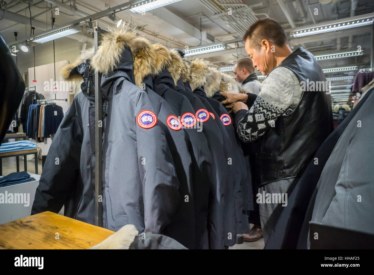 canada goose fur cleaning