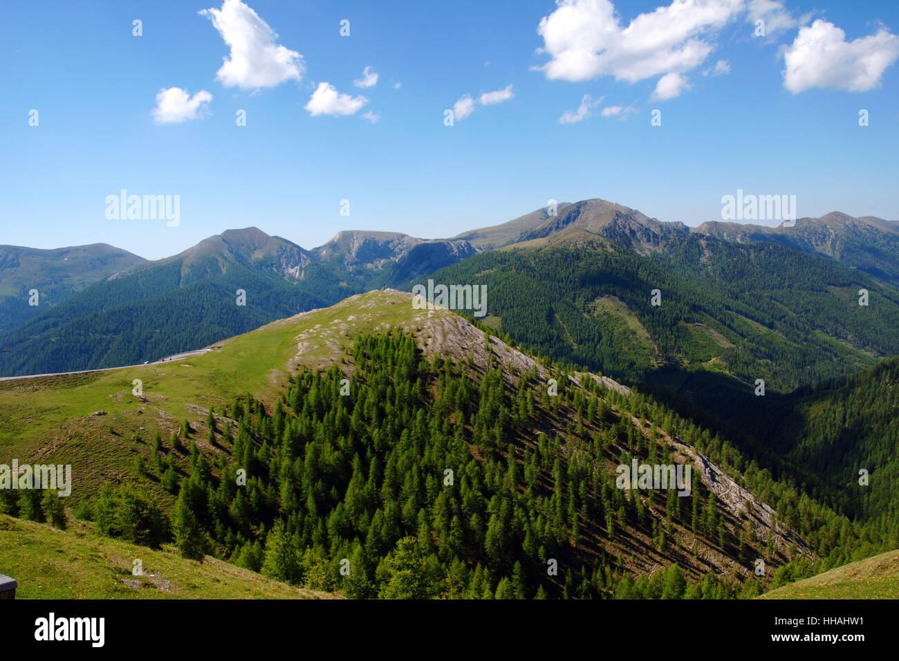 windebensee,austria,carinthia,hohe tauern,a recreation area,naturschutzgebie Stock Photo