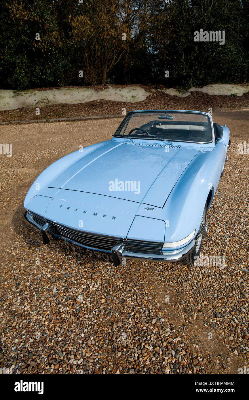 Triumph TR Fury prototype British sports car from 1964 - Stock Image