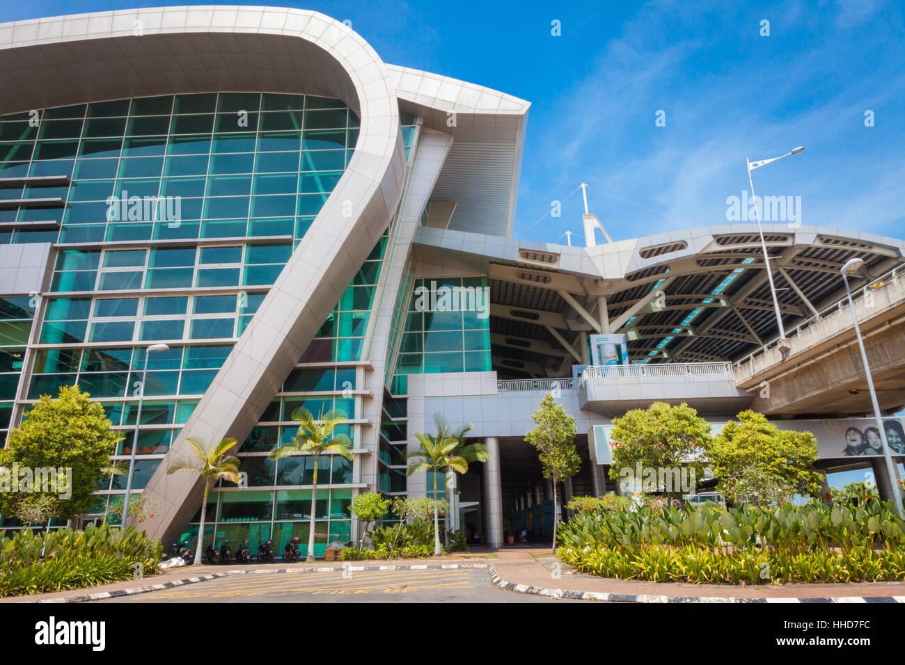 International airport at Kota Kinabalu, Malaysia Borneo - Stock Image