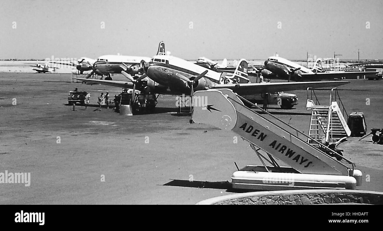 Aden Airport - Stock Image