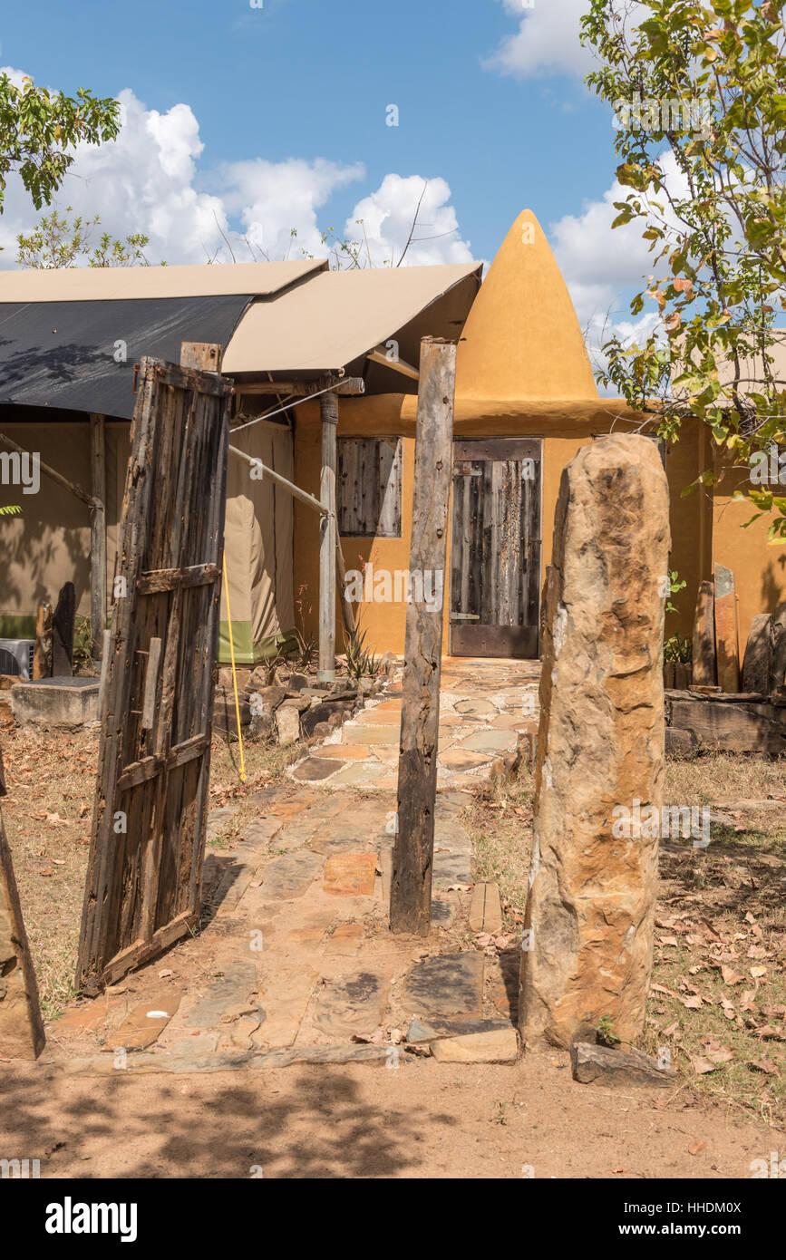 Azura Selous Safari Camp Tanzania - Stock Image