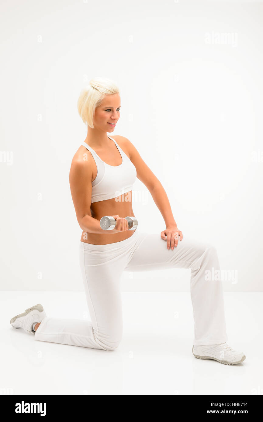 woman, laugh, laughs, laughing, twit, giggle, smile, smiling, laughter, - Stock Image