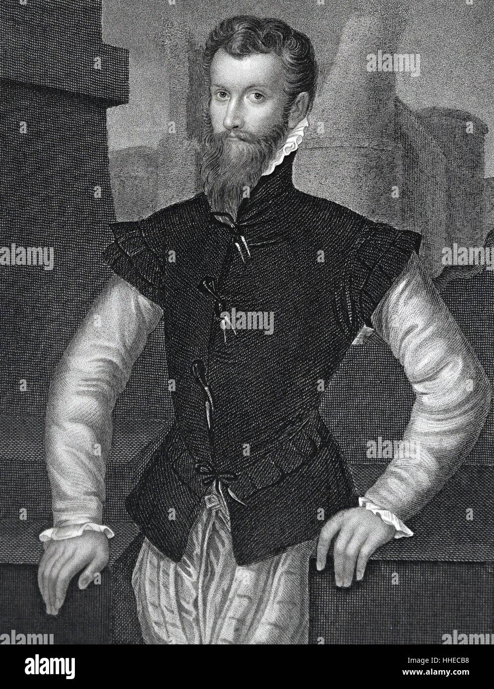 Edward Courtenay, Earl of Devonshire (15267-1556); English courtier - Stock Image