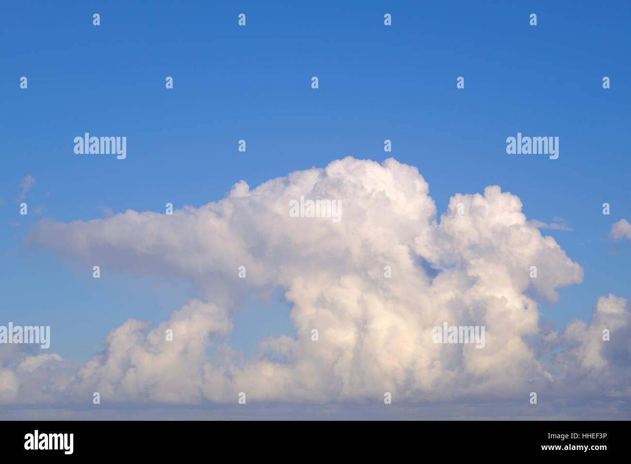 Cumulonimbus clouds, Tenerife, Spain - Stock Image
