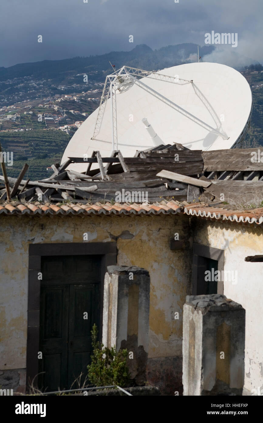 Hut With Dish Stock Photos & Hut With Dish Stock Images