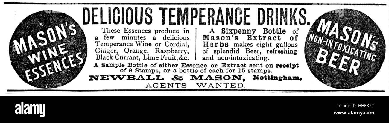 temperance drinks