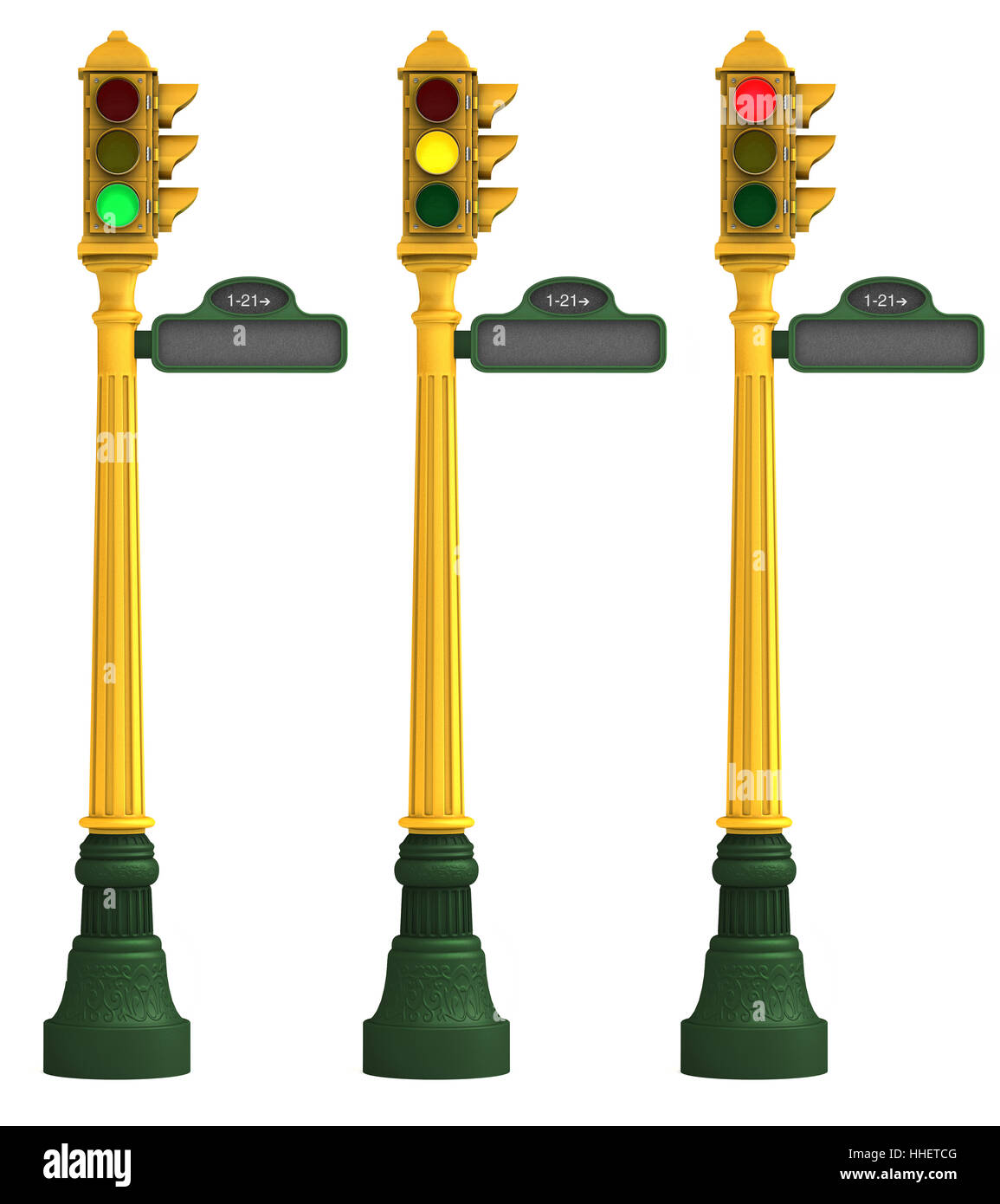 Sign, Signal, Hanging Lamp, Traffic Light, Set Of Lights, Retro Stock  Photo: 131248224   Alamy