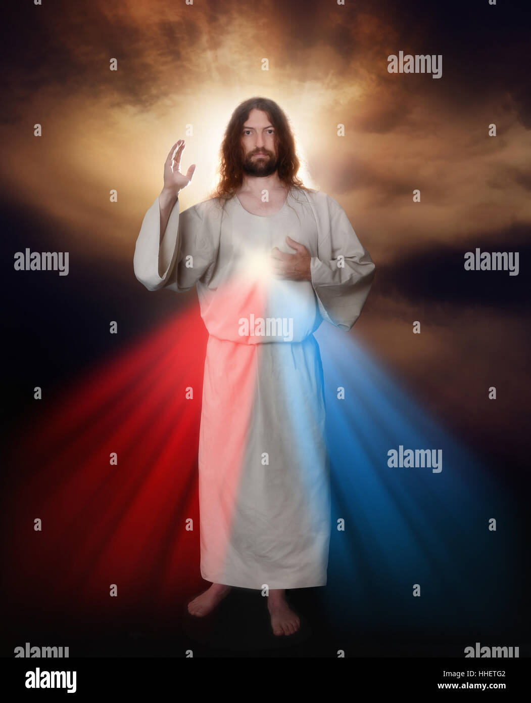 catholic, catholicism, blessing, redemption, saviour, mercy, jesus, catholic, - Stock Image