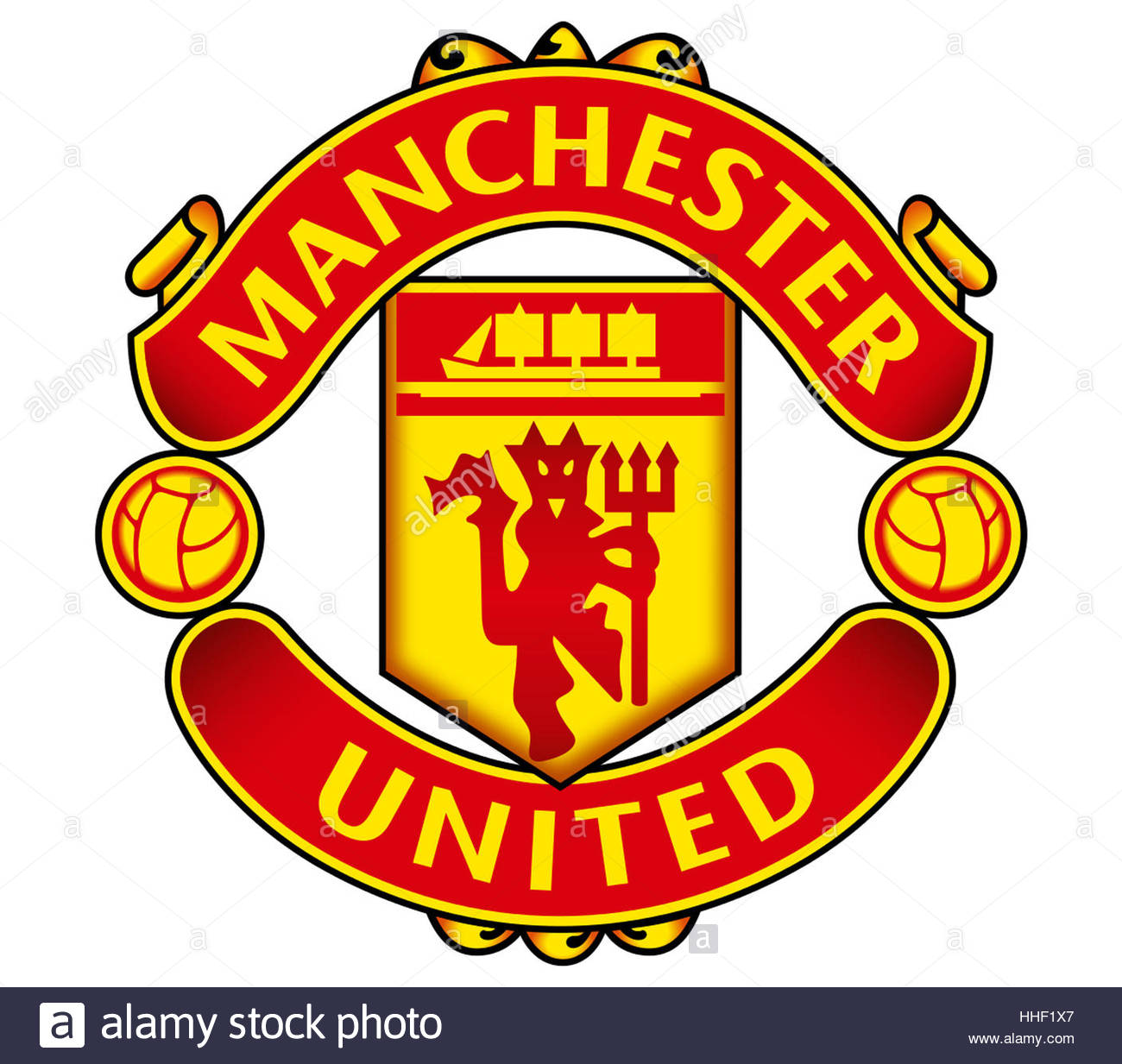 Manchester United Icon Logo Stock Photo 131252527 Alamy