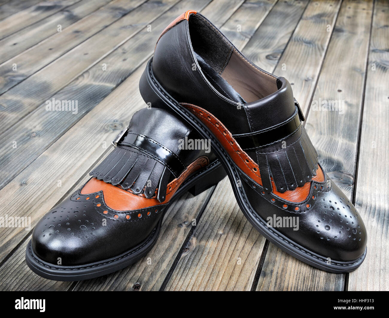 Women s shoes with low heels leather black and brown 716a5c6ccb