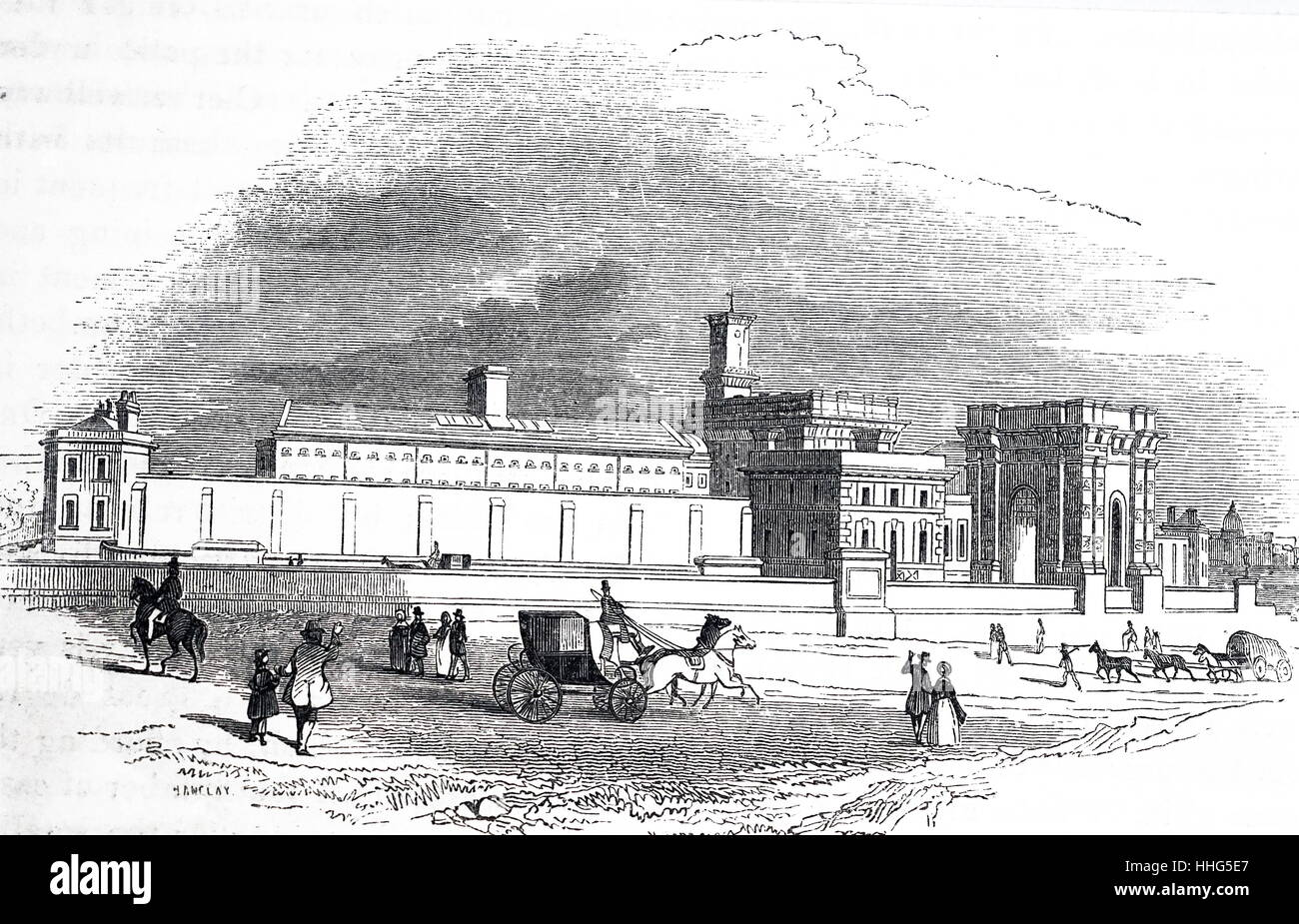 pentonville prison history A new prison designed by george dance and built between 1770 and 1778 was burnt down in the gordon riots in 1780, but was again rebuilt 1780-1783 the place of public execution in london was then moved from tyburn to an area.