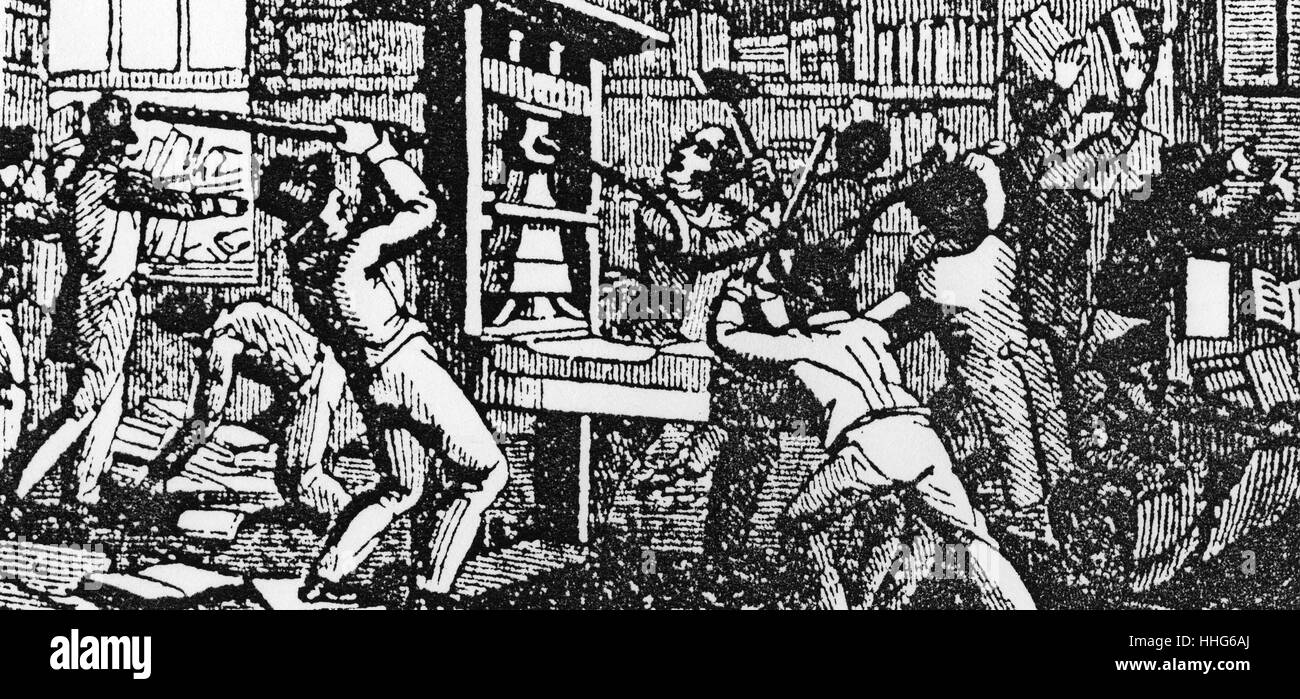 The Abolitionists - The first martyr. - Stock Image