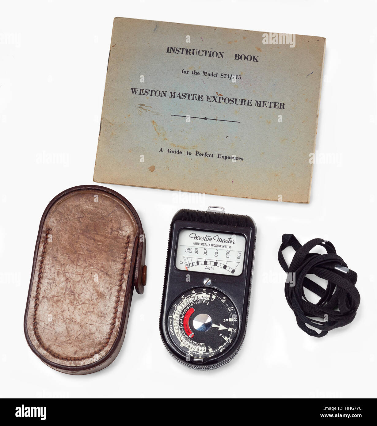 Weston 1951 light meter - Stock Image