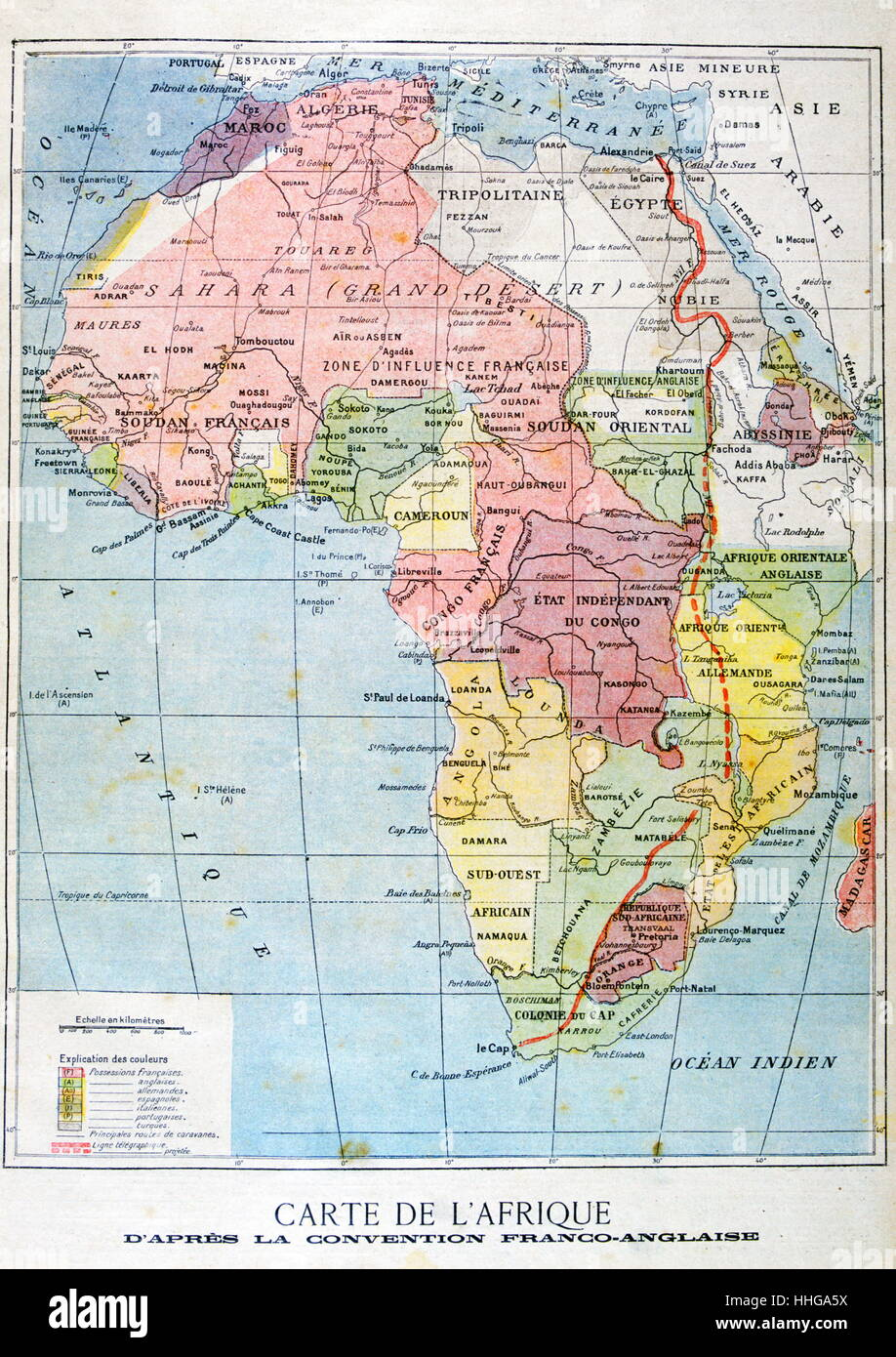 Africa French Colonial Map Stock Photos & Africa French ... on map of ethiopia in french, map of african countries, map of france in french, us map in french, map of european countries in french, map colonial africa, map of madagascar in french, map of belgium in french, map of switzerland in french, map of casablanca in french, south america map in french, map of french speaking countries, map of caribbean in french, nutrition label in french, map of world in french, map of north america in french, map of canada in french, map of seychelles in french, map of central america in french, united states map in french,