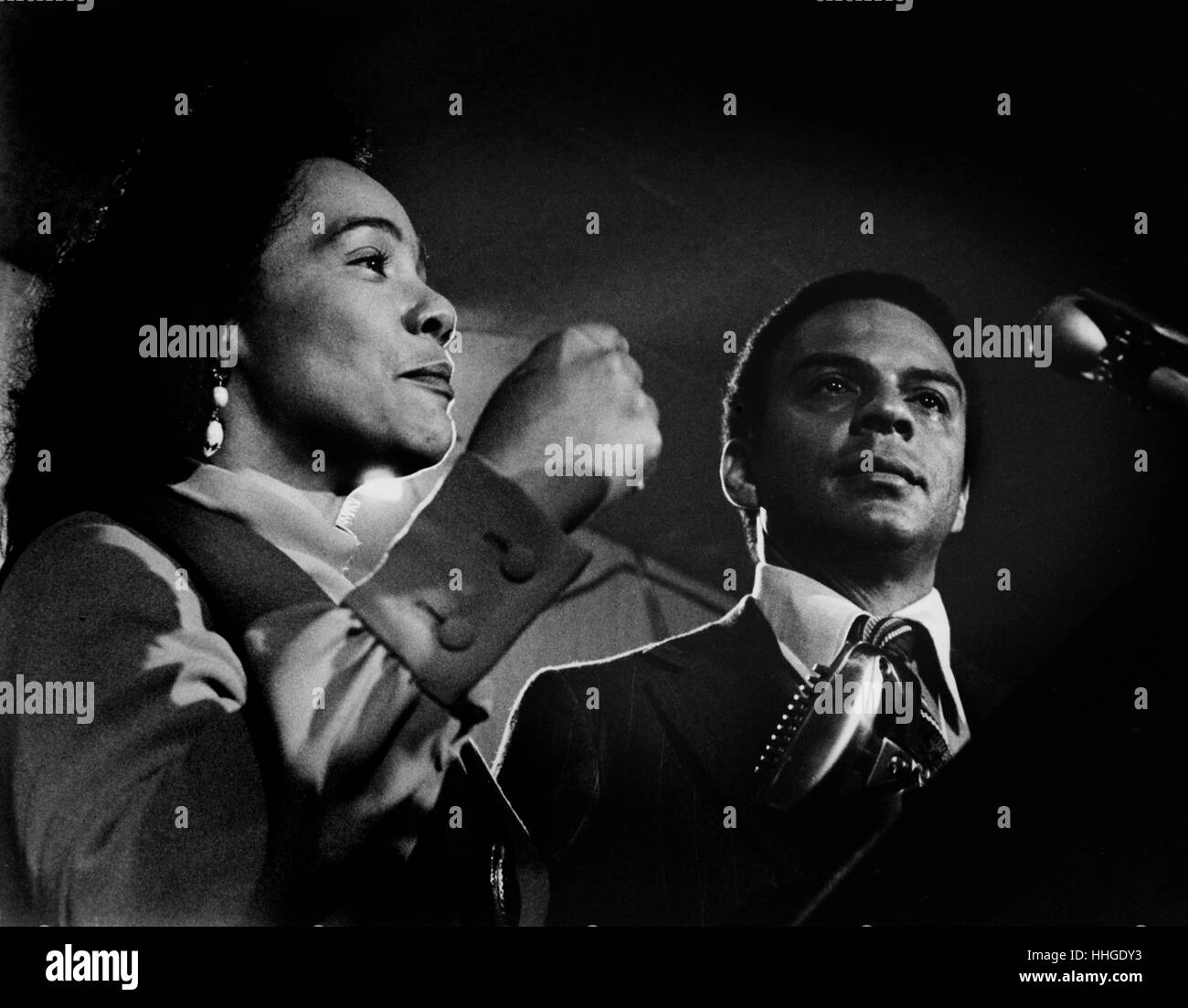 Coretta Scott King And Michelle Obama
