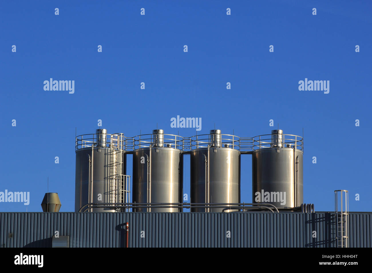 work, factory, chemical plant, work, factory, mill, chemical plant, cement - Stock Image