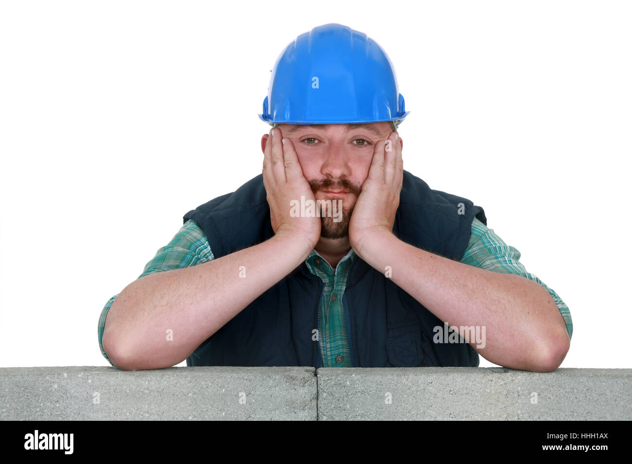 blue, build, collar, bored, builder, construction, blue, house Stock ...