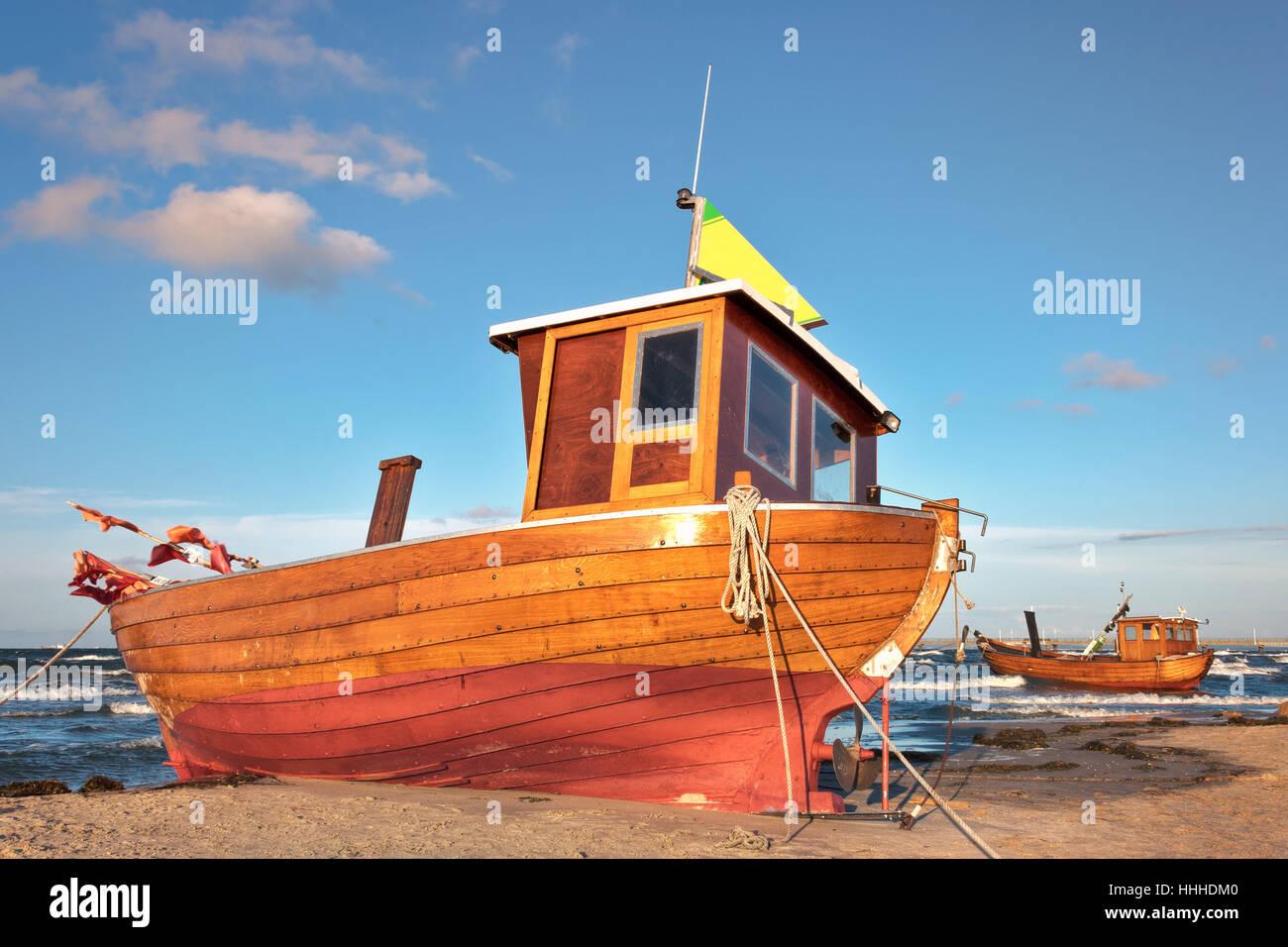 baltic cutter Stock Photo