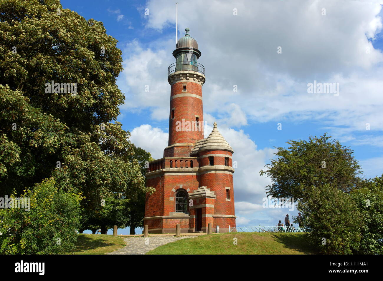keel, emblem, kiel canal, lighthouse, tower, monument, tree, trees, Stock Photo