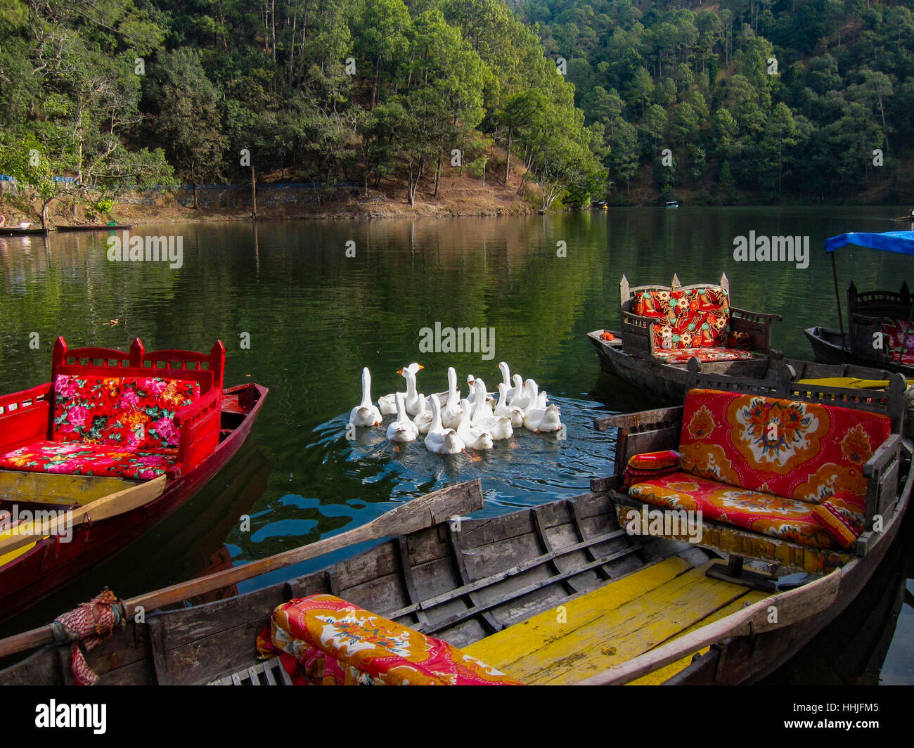 Sattal Boating - Stock Image