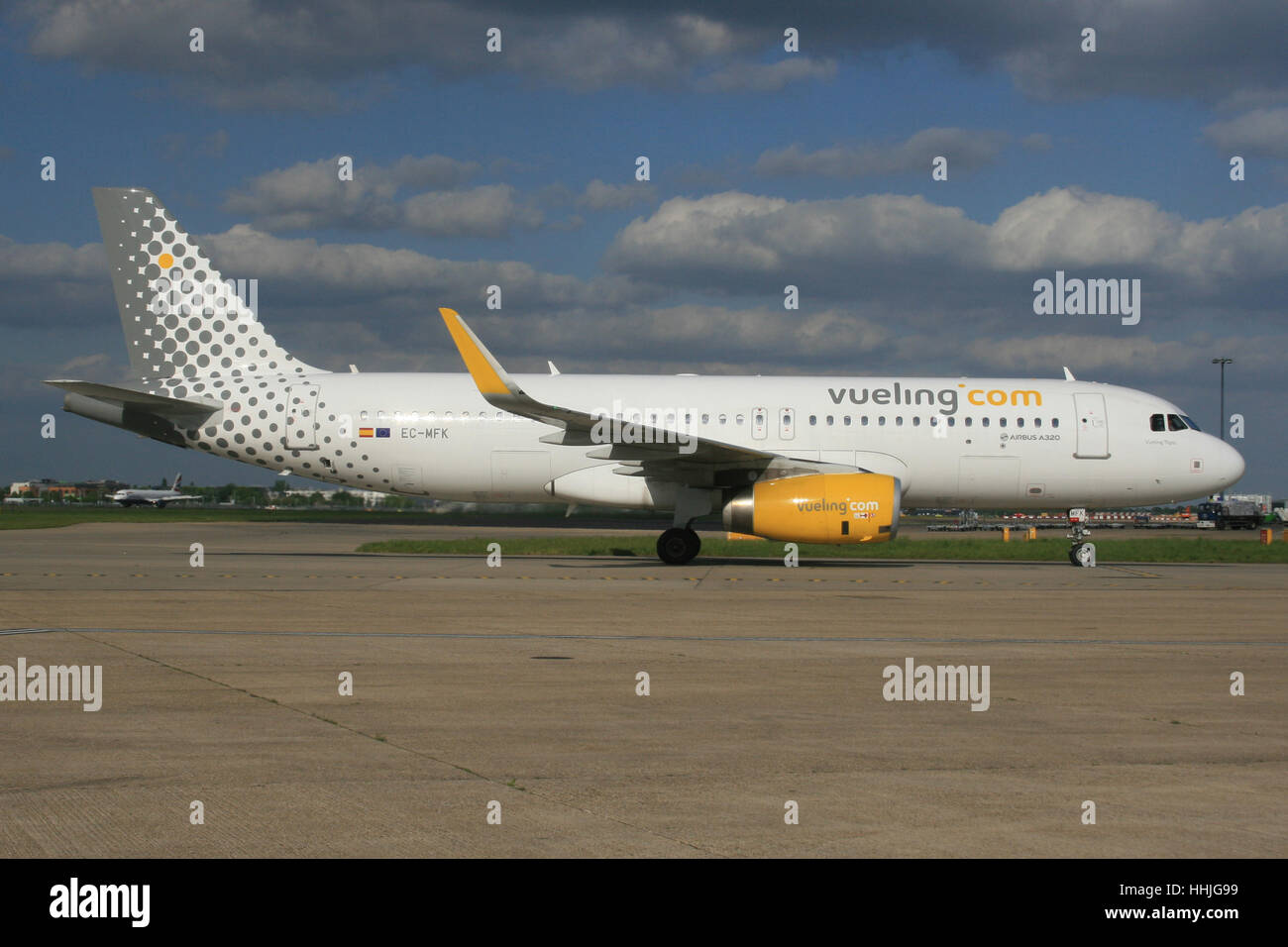 VUELING A320 - Stock Image