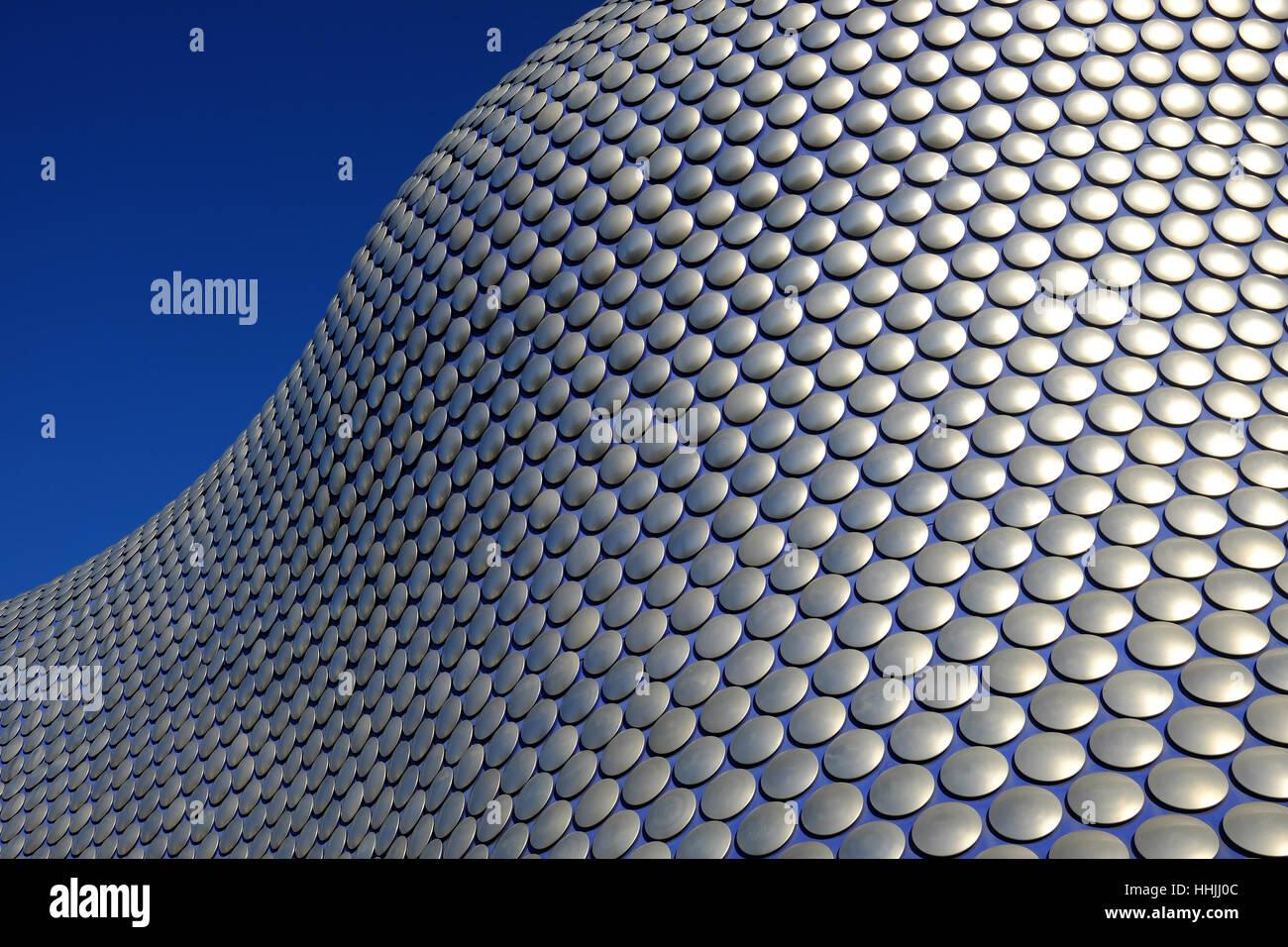 exterior of Selfridges in Birmingham, UK - Stock Image