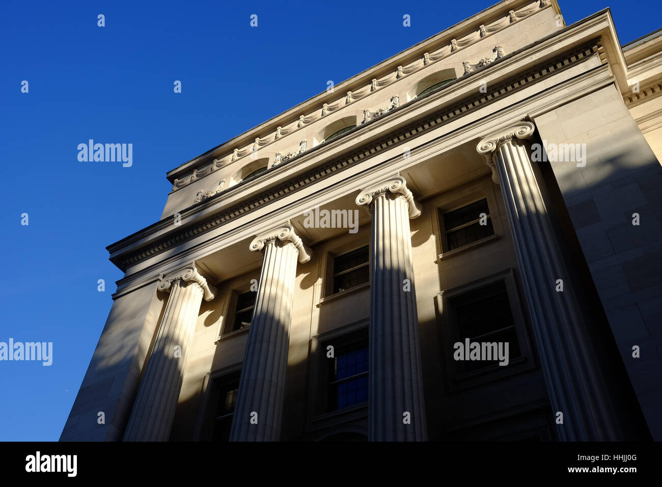 classical-style architecture - Stock Image