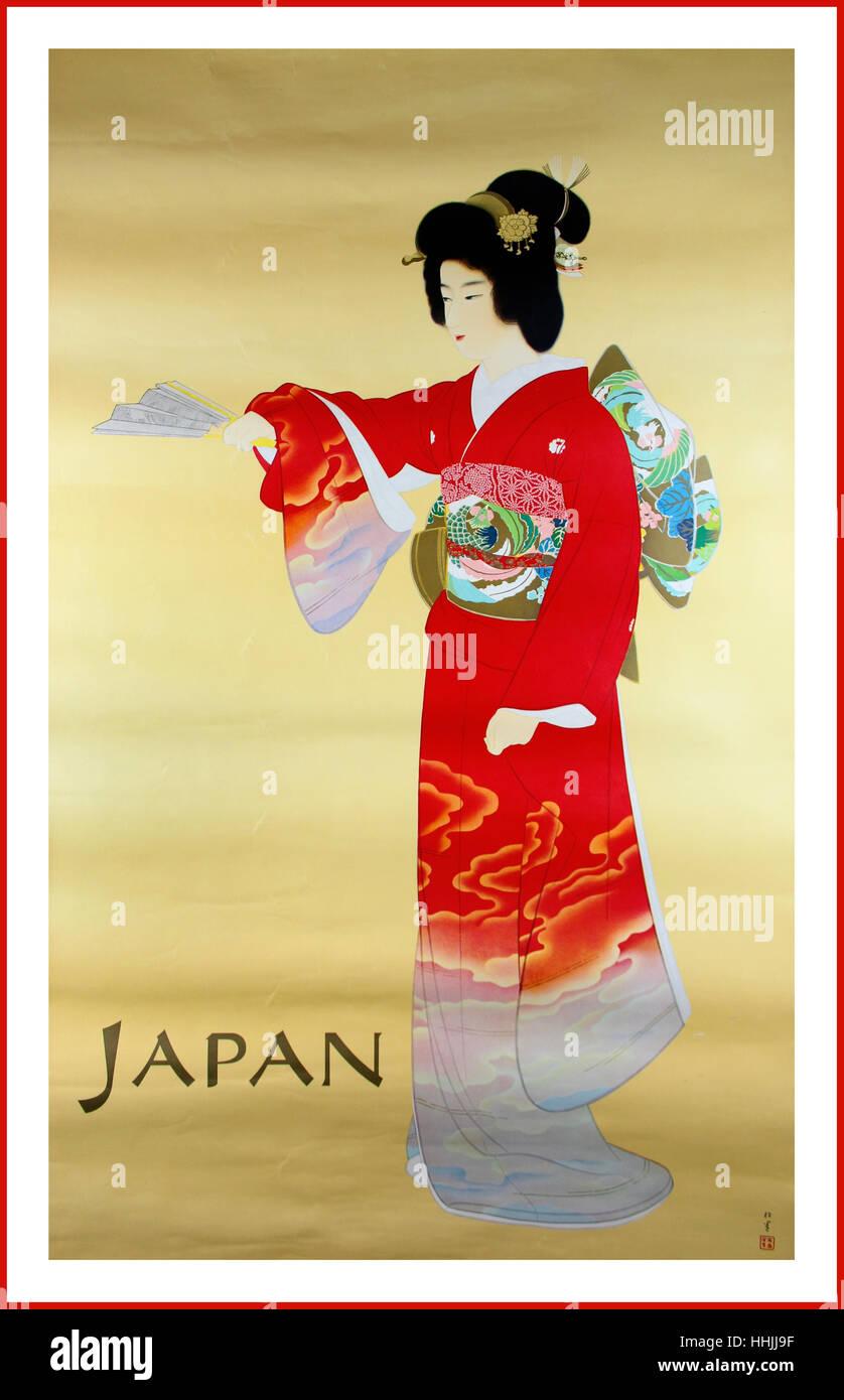 Geisha Painting Stock Photos & Geisha Painting Stock Images - Alamy