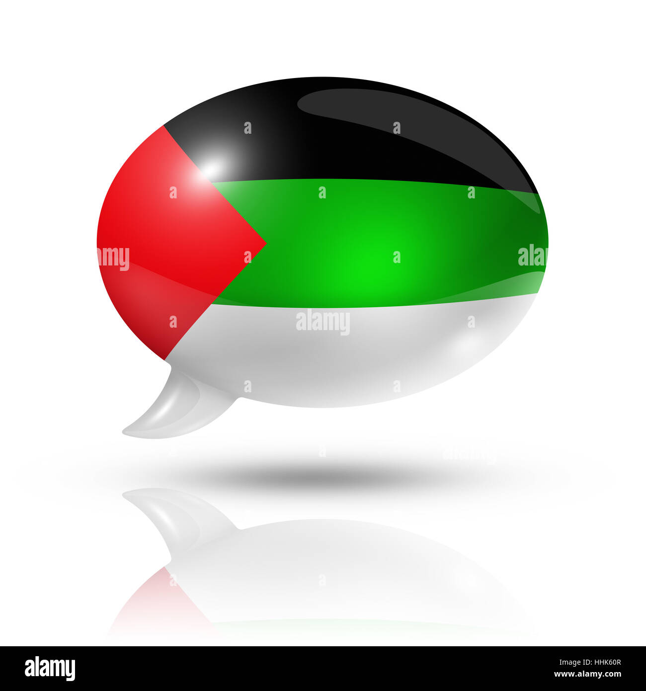 flag, arab, bubble, talk, speaking, speaks, spoken, speak, talking, chat, - Stock Image