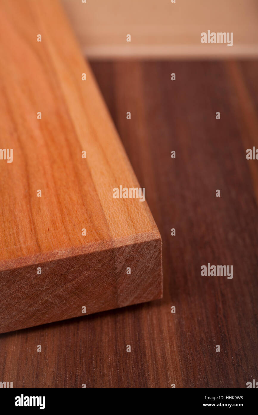 wood, cherry, design, shaping, formation, shape, model, figure, deciduous wood, - Stock Image