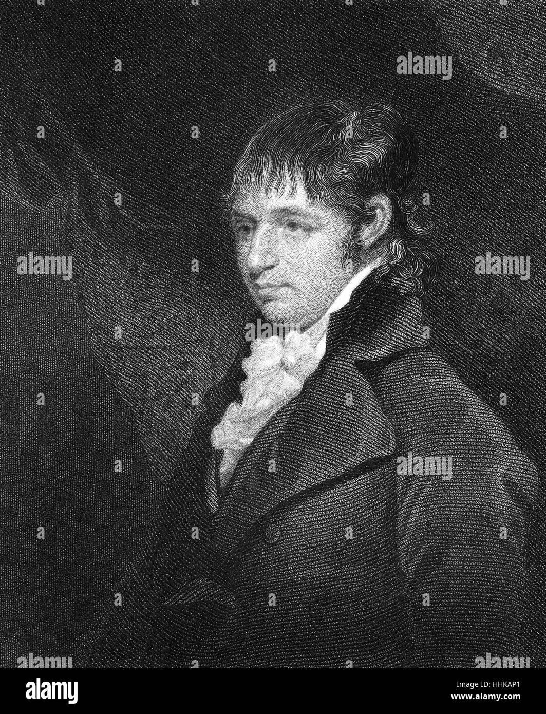 Richard Porson, 1759-1808, an English classical scholar, Richard Porson, 1759-1808, ein britischer Klassischer Philologe - Stock Image